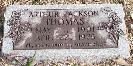 THOMAS, ARTHUR JACKSON - Saline County, Arkansas | ARTHUR JACKSON THOMAS - Arkansas Gravestone Photos