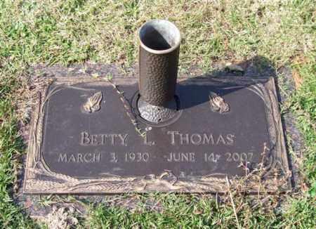 THOMAS, BETTY LOU - Saline County, Arkansas   BETTY LOU THOMAS - Arkansas Gravestone Photos