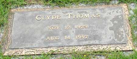 THOMAS, CLYDE - Saline County, Arkansas   CLYDE THOMAS - Arkansas Gravestone Photos