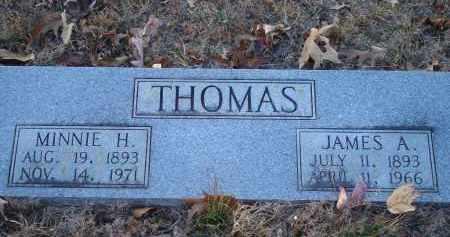 THOMAS, JAMES A - Saline County, Arkansas | JAMES A THOMAS - Arkansas Gravestone Photos