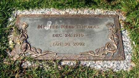 REED THOMAS, MYRTLE - Saline County, Arkansas | MYRTLE REED THOMAS - Arkansas Gravestone Photos