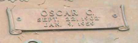 THOMAS, OSCAR CONE (CLOSEUP) - Saline County, Arkansas | OSCAR CONE (CLOSEUP) THOMAS - Arkansas Gravestone Photos