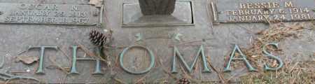 THOMAS, BESSIE M. - Saline County, Arkansas | BESSIE M. THOMAS - Arkansas Gravestone Photos