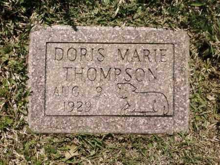 MARIE THOMPSON, DORIS - Saline County, Arkansas | DORIS MARIE THOMPSON - Arkansas Gravestone Photos
