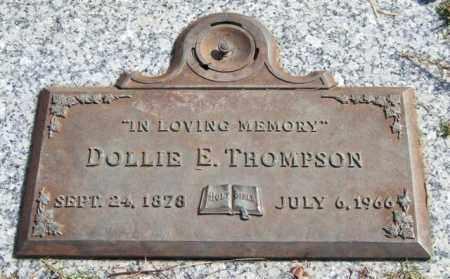 THOMPSON, DOLLIE E. - Saline County, Arkansas   DOLLIE E. THOMPSON - Arkansas Gravestone Photos