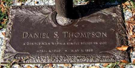 THOMPSON, DANIEL S. - Saline County, Arkansas   DANIEL S. THOMPSON - Arkansas Gravestone Photos