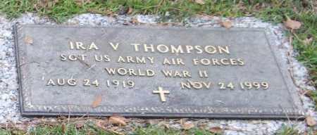 THOMPSON (VETERAN WWII), IRA V - Saline County, Arkansas   IRA V THOMPSON (VETERAN WWII) - Arkansas Gravestone Photos