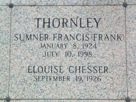 "THORNLEY, SUMNER FRANCIS ""FRANK"" - Saline County, Arkansas   SUMNER FRANCIS ""FRANK"" THORNLEY - Arkansas Gravestone Photos"