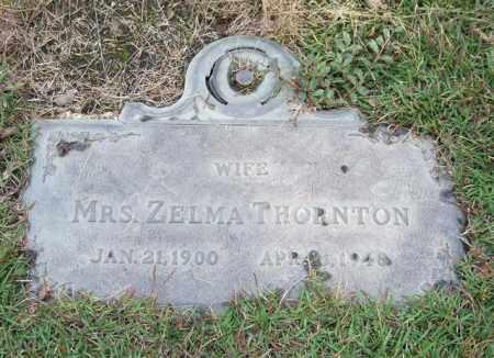 THORNTON, ZELMA - Saline County, Arkansas | ZELMA THORNTON - Arkansas Gravestone Photos