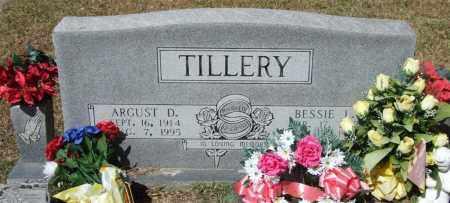 TILLERY, ARGUST D - Saline County, Arkansas | ARGUST D TILLERY - Arkansas Gravestone Photos