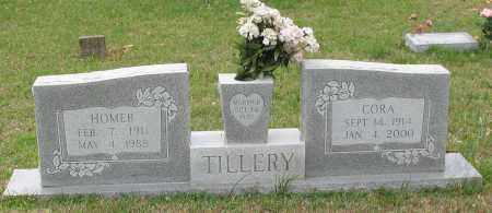 TILLERY, HOMER - Saline County, Arkansas | HOMER TILLERY - Arkansas Gravestone Photos