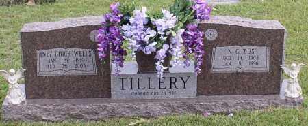 "TILLERY, INEZ ""CHICK"" - Saline County, Arkansas | INEZ ""CHICK"" TILLERY - Arkansas Gravestone Photos"