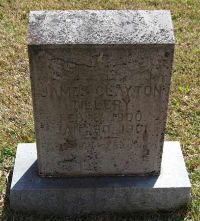 TILLERY, JAMES CLAYTON - Saline County, Arkansas   JAMES CLAYTON TILLERY - Arkansas Gravestone Photos