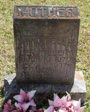 WHITE TILLERY, NANCY ELLA - Saline County, Arkansas | NANCY ELLA WHITE TILLERY - Arkansas Gravestone Photos