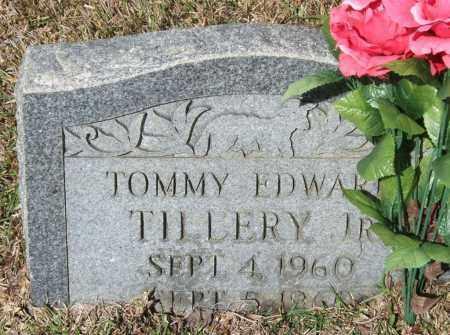 TILLERY, JR., TOMMY EDWARD - Saline County, Arkansas   TOMMY EDWARD TILLERY, JR. - Arkansas Gravestone Photos