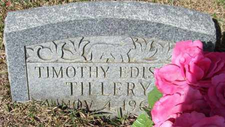 TILLERY, TIMOTHY EDISON - Saline County, Arkansas | TIMOTHY EDISON TILLERY - Arkansas Gravestone Photos