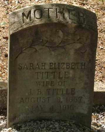 HARPER TITTLE, SARAH ELIZABETH - Saline County, Arkansas | SARAH ELIZABETH HARPER TITTLE - Arkansas Gravestone Photos