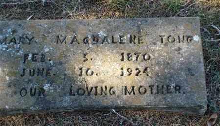 TONG, MARY MAGDALENE - Saline County, Arkansas   MARY MAGDALENE TONG - Arkansas Gravestone Photos