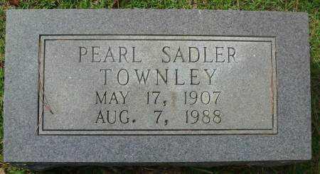 TOWNLEY, PEARL - Saline County, Arkansas | PEARL TOWNLEY - Arkansas Gravestone Photos