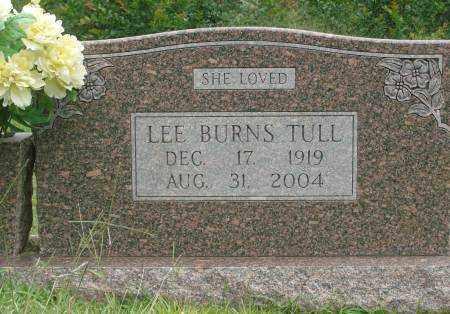 BURNS TULL, LEE - Saline County, Arkansas | LEE BURNS TULL - Arkansas Gravestone Photos