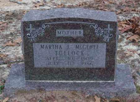 TULLOCK, MARTHA J. - Saline County, Arkansas | MARTHA J. TULLOCK - Arkansas Gravestone Photos