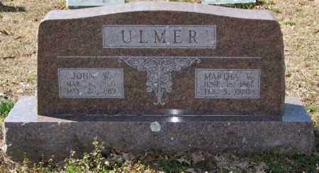 ULMER, MARTHA V. - Saline County, Arkansas | MARTHA V. ULMER - Arkansas Gravestone Photos