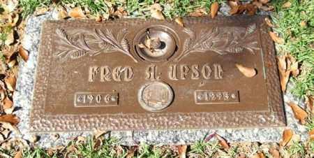 UPSON, FRED A. - Saline County, Arkansas | FRED A. UPSON - Arkansas Gravestone Photos