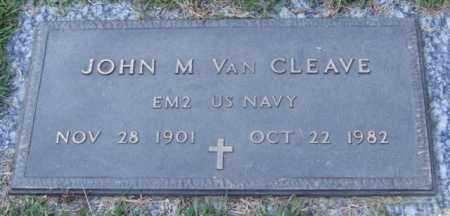 VAN CLEAVE (VETERAN), JOHN M - Saline County, Arkansas | JOHN M VAN CLEAVE (VETERAN) - Arkansas Gravestone Photos