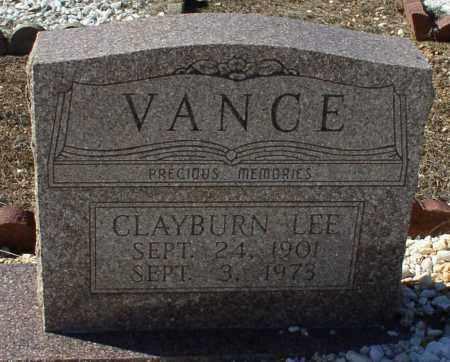 VANCE, CLAYBURN LEE - Saline County, Arkansas | CLAYBURN LEE VANCE - Arkansas Gravestone Photos