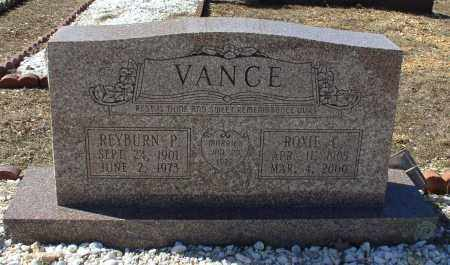 VANCE, REYBURN PEAY - Saline County, Arkansas | REYBURN PEAY VANCE - Arkansas Gravestone Photos