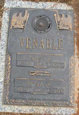 VENABLE, ROSA M. - Saline County, Arkansas | ROSA M. VENABLE - Arkansas Gravestone Photos