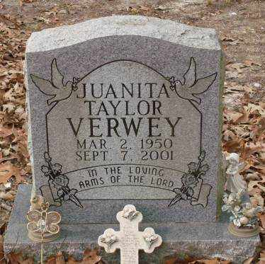 VERWEY, JUANITA - Saline County, Arkansas   JUANITA VERWEY - Arkansas Gravestone Photos
