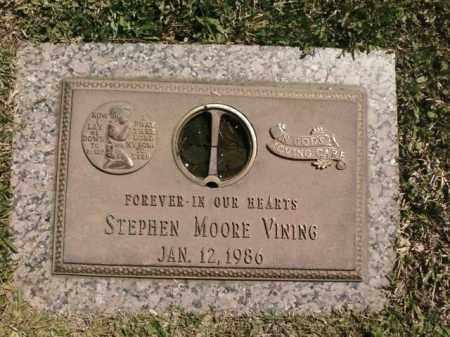VINING, STEPHEN MOORE - Saline County, Arkansas | STEPHEN MOORE VINING - Arkansas Gravestone Photos