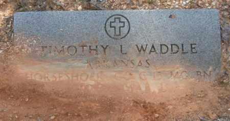 WADDLE (VETERAN), TIMOTHY L - Saline County, Arkansas | TIMOTHY L WADDLE (VETERAN) - Arkansas Gravestone Photos