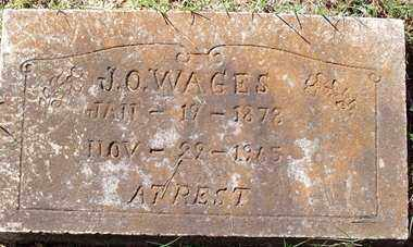 WAGES, J O - Saline County, Arkansas | J O WAGES - Arkansas Gravestone Photos