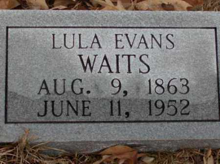EVANS WAITS, LULA - Saline County, Arkansas | LULA EVANS WAITS - Arkansas Gravestone Photos