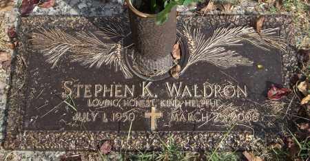 WALDRON, STEPHEN K. - Saline County, Arkansas | STEPHEN K. WALDRON - Arkansas Gravestone Photos