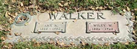 WALKER, WILEY W. - Saline County, Arkansas | WILEY W. WALKER - Arkansas Gravestone Photos