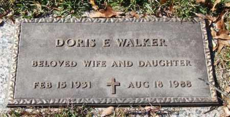 WALKER, DORIS E. - Saline County, Arkansas | DORIS E. WALKER - Arkansas Gravestone Photos