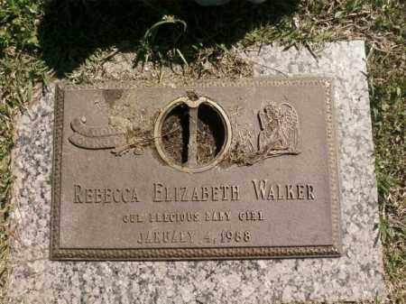 WALKER, REBECCA ELIZABETH - Saline County, Arkansas   REBECCA ELIZABETH WALKER - Arkansas Gravestone Photos