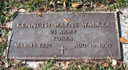 WALKER (VETERAN KOR), KENNETH WAYNE - Saline County, Arkansas   KENNETH WAYNE WALKER (VETERAN KOR) - Arkansas Gravestone Photos
