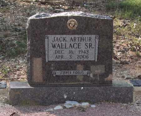 WALLACE, SR., JACK ARTHUR - Saline County, Arkansas   JACK ARTHUR WALLACE, SR. - Arkansas Gravestone Photos