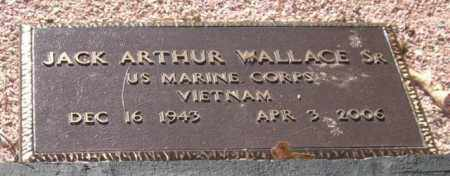 WALLACE, SR (VETERAN VIET), JACK ARTHUR - Saline County, Arkansas | JACK ARTHUR WALLACE, SR (VETERAN VIET) - Arkansas Gravestone Photos