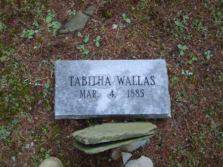 WALLAS, TABITHA - Saline County, Arkansas | TABITHA WALLAS - Arkansas Gravestone Photos
