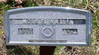WALLER, NOLA E - Saline County, Arkansas | NOLA E WALLER - Arkansas Gravestone Photos