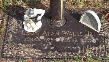 WALLS, JR., LOUIS ALAN - Saline County, Arkansas   LOUIS ALAN WALLS, JR. - Arkansas Gravestone Photos