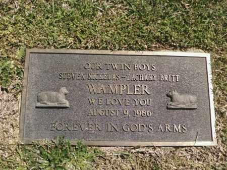 WAMPLER, STEVEN NICKELAS - Saline County, Arkansas | STEVEN NICKELAS WAMPLER - Arkansas Gravestone Photos