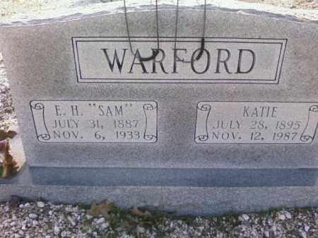 WARFORD, E.H. - Saline County, Arkansas | E.H. WARFORD - Arkansas Gravestone Photos