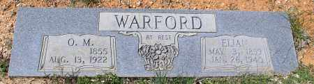 WARFORD, ELIAN - Saline County, Arkansas | ELIAN WARFORD - Arkansas Gravestone Photos