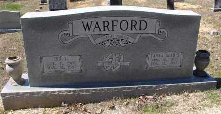 WARFORD, TED J. - Saline County, Arkansas | TED J. WARFORD - Arkansas Gravestone Photos